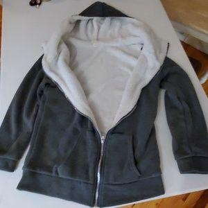 Tops - Sherpa lined hoodie